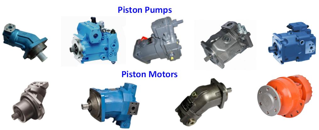 Piston pump and motor